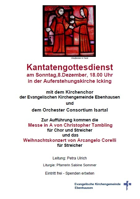 Kantatengottesdienst 2.Advent